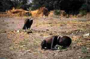 Menino Africano morrendo de fome