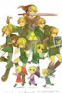 Links do Zelda