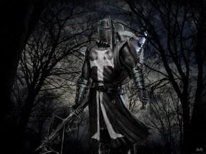 Cavaleiro negro em Alta Definição